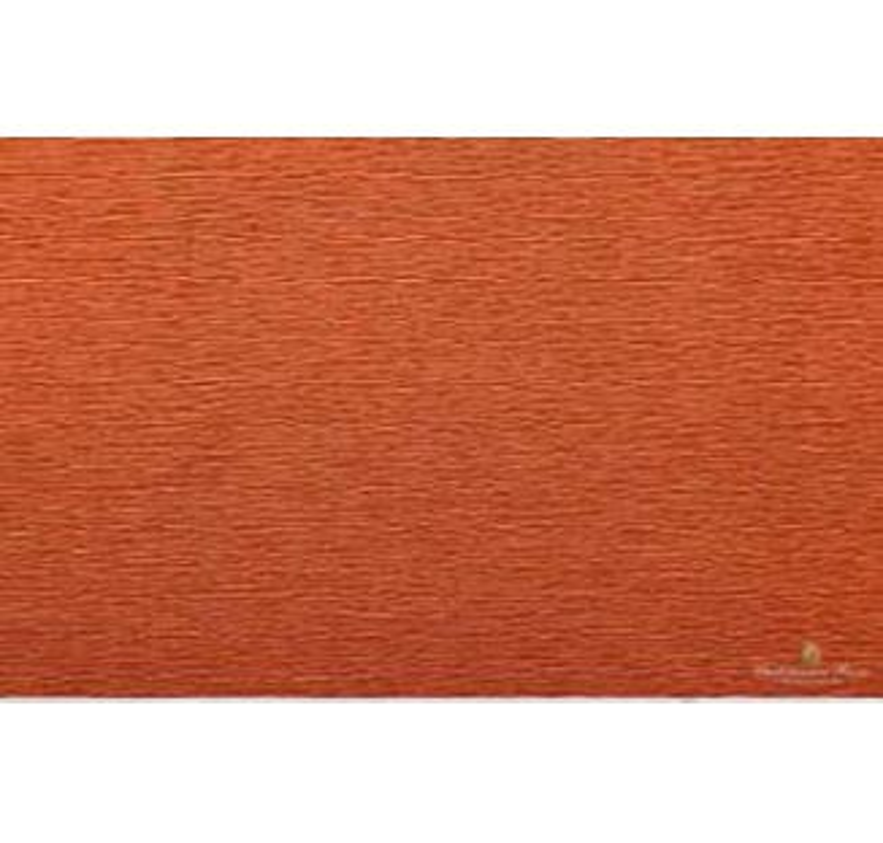 CARTA CRESPA 50x250cm 60g 10pz MARRONE