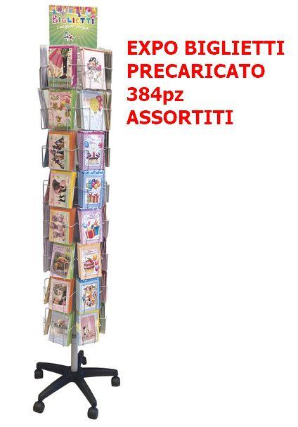 BIGLIETTI EDITALY EXPO 384pz ASSORTITI EXPO DA TERRA 48tasche