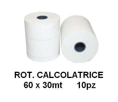 ROTOLI CALCOLATRICE 60x60mt 10pz - R60