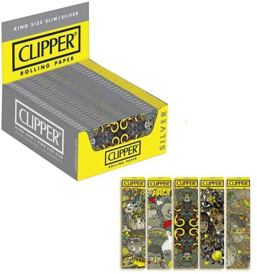 CARTINE CLIPPER CORTA SILVER Aleix Gordo 50pz (Acc. 9)-PROV-A07006002