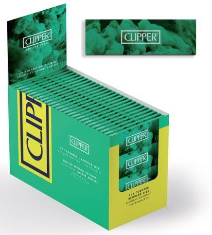 CARTINE CLIPPER CORTA VERDE 100pz (Acc. 18)-PROV-A00189002