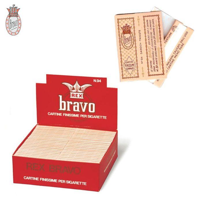 CARTINE BRAVO REX CORTA 100pz (Acc. 14,4)-A00034014