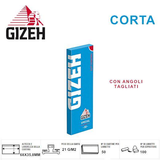 CARTINE GIZEH CORTA SPECIAL 100pz (Acc. 18)-PROV-A00068002