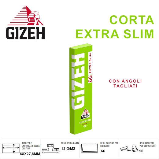 CARTINE GIZEH SUPER FINE CORTA EXTRA SLIM 50pz (Acc. 11,88)-PROV-A0369012