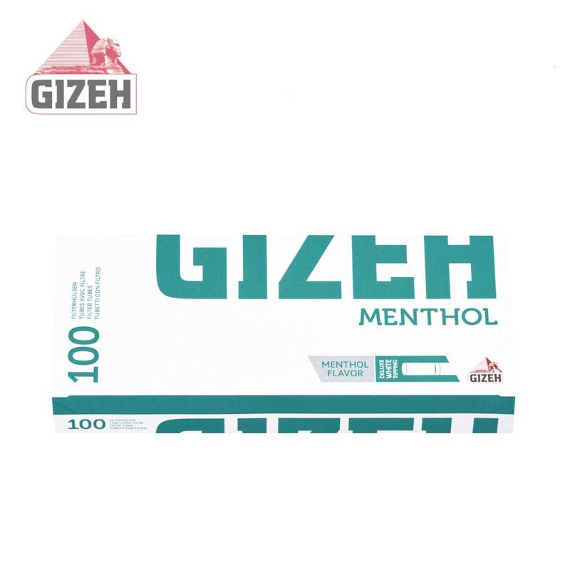 TUBETTI GIZEH 10x100pz SILVER MENTOLO (Acc. 3,6)-PROV-B00019005
