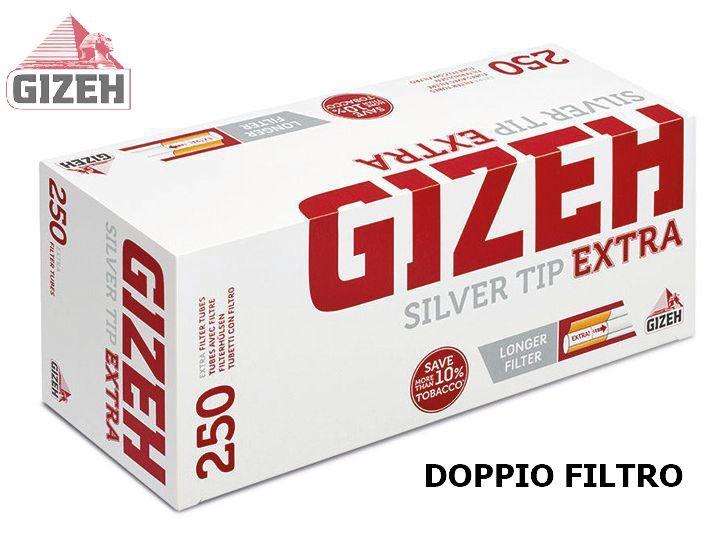 TUBETTI GIZEH 4x250pz DOPPIO FILTRO (Acc. 3,6)-PROV-B00018009