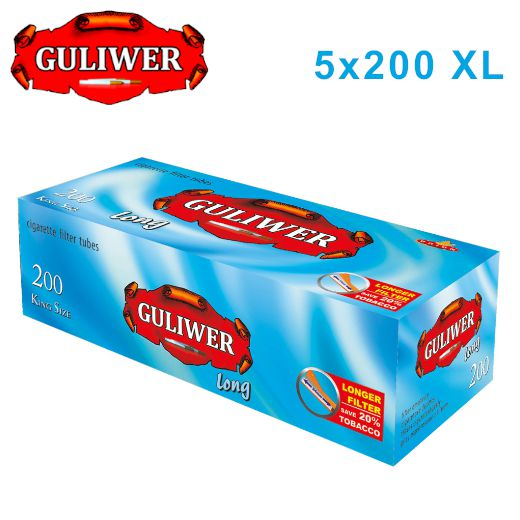 TUBETTI GULIWER KS XL LONG 5x200pz LUNGO (Acc. 3,6)-PROV-B01481013