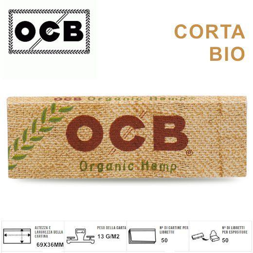 CARTINE OCB CORTA 50pz CANAPA BIO (Acc. 9)-PROV-A00047002