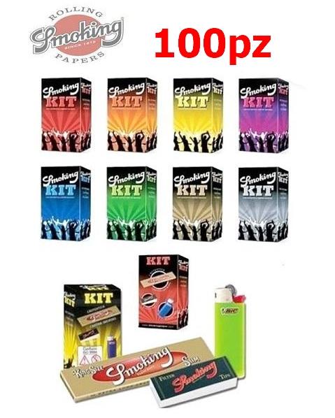 ASTUCCIO SMOKING 100pz DISTRIBUTORE (Acc. 23,76)-PROV-D00048012