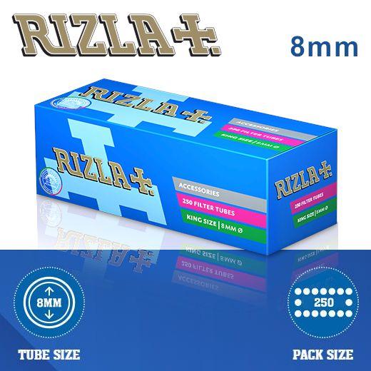 TUBETTI RIZLA FILTER KS 4x250pz (Acc. 3,6)-B00001009