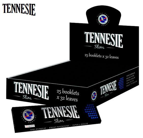 CARTINE TENNESIE KS SLIM 25pz BLACK - C80 (Acc. 2,88)-PROV-A06899001