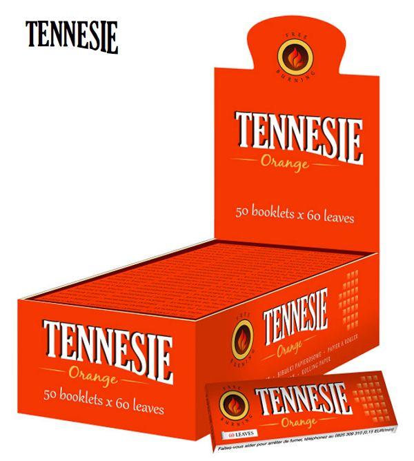 CARTINE TENNESIE CORTA 50pz ORANGE-C40 (Acc. 10,8)-PROV-A00111011
