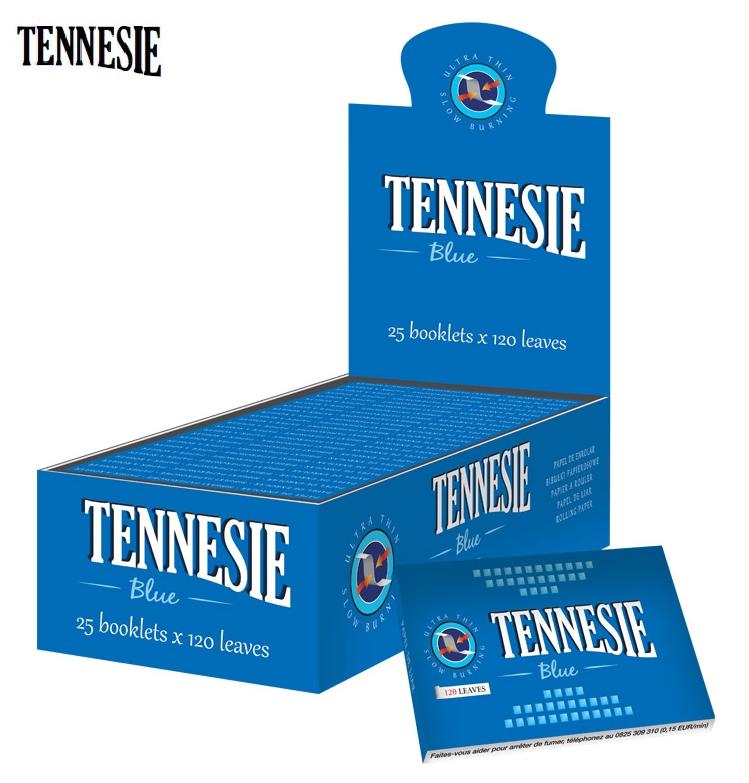 CARTINE TENNESIE DOPPIA CORTA 25pz BLU - C40 (Acc. 10,8)-PROV-A00112007