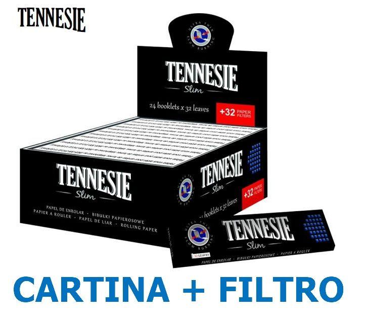 CARTINE TENNESIE KS SLIM 24pz + 24pz FILTRI CARTA - C40 (Acc. 5,52)-PROV-D00020003