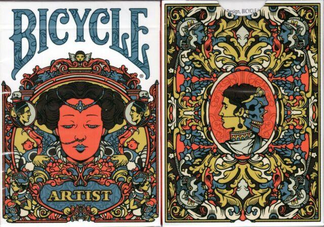 CARTE DA POKER BICYCLE 1pz ARTIST SECOND EDITION