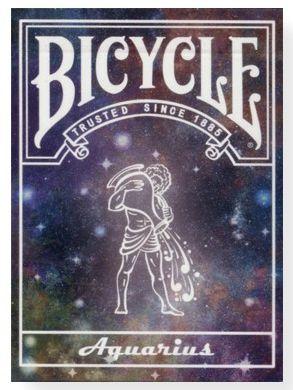 CARTE DA POKER BICYCLE 1pz AQUARIUS CONSTELLATION