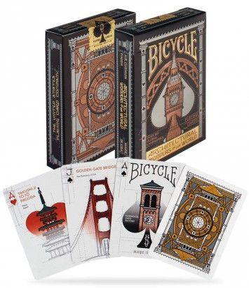 CARTE DA POKER BICYCLE 1pz ARCHITECTURAL