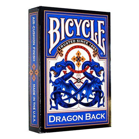 CARTE DA POKER BICYCLE 1pz BLUE DRAGON