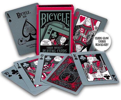 CARTE DA POKER BICYCLE 1pz - TRAGIC ROYALTY