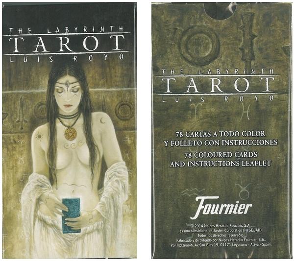 TAROCCHI THE LABYRINTH 1x78pz - FOURNIER BICYCLE