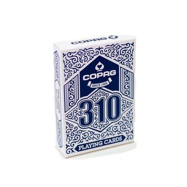 CARTE DA GIOCO POKER COPAG 310 1pz BLU STANDARD
