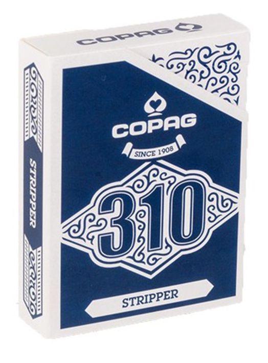 CARTE DA GIOCO POKER COPAG 310 1pz STRIPPER MAZZO TRUCCATO CONICO