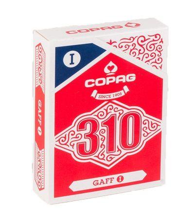 CARTE DA GIOCO POKER COPAG 310 1pz GAF MAZZO TRUCCATO