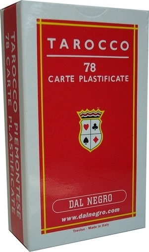 TAROCCHI PIEMONTESI 78/50 1pz RED DAL NEGRO