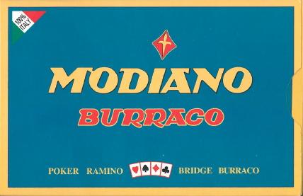 CARTE DA GIOCO BURRACO EXTRA MODIANO 1pz