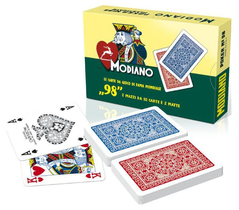 CARTE DA GIOCO RAMINO 98 MODIANO 1pz