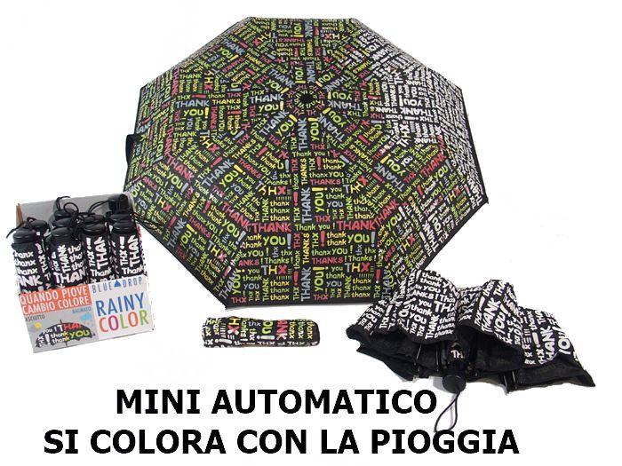 OMBRELLO MINI DONNA 1pz RAIN COLOR ASSORTITI