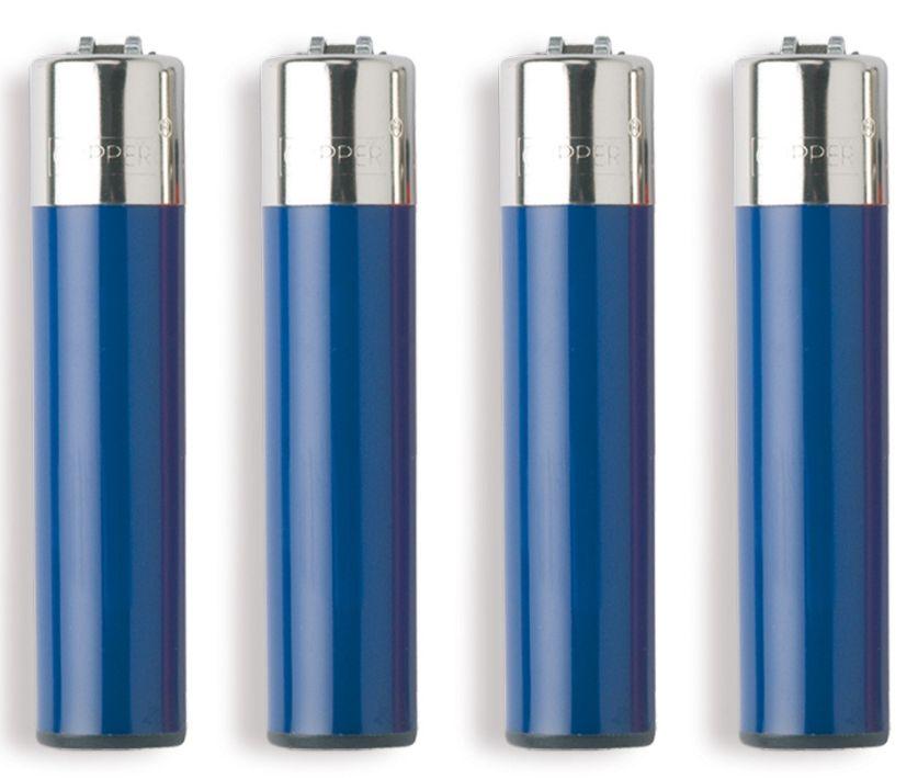 ACCENDINO CLIPPER PIETRINA 48pz BLU REFLEX