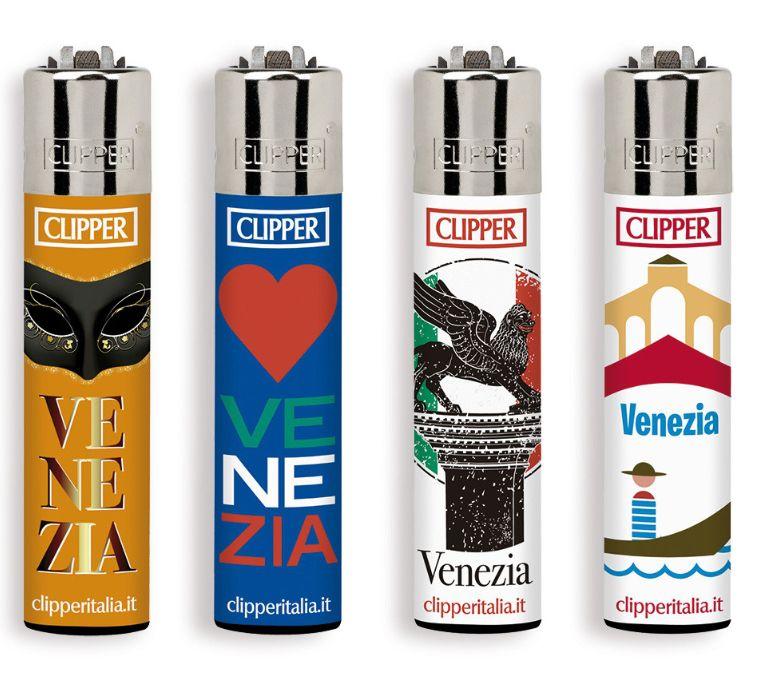 ACCENDINO CLIPPER PIETRINA 48pz VENEZIA SOUVENIR
