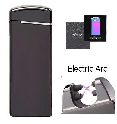 ACCENDINO REGALO COZY SLIM USB 1pz BLACK X-ARC USB