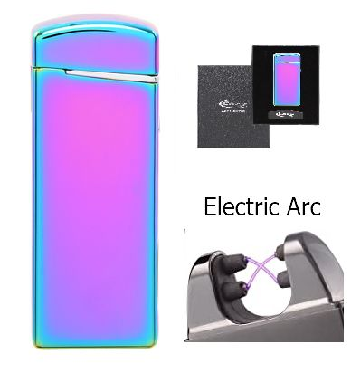 ACCENDINO REGALO COZY SLIM USB 1pz RAINBOW X-ARC USB