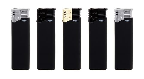ACCENDINO ATOMIC TURBO 50pz BLACK LINE