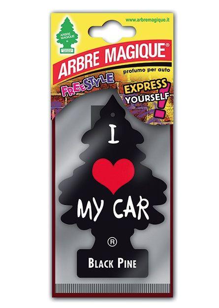 DEODORANTE PER AUTO ARBRE MAGIQUE 1pz BLACK PINE