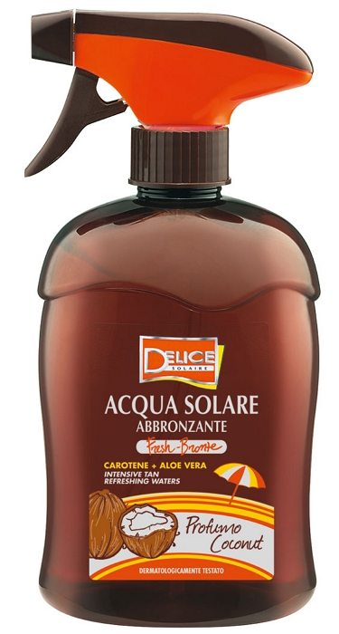 SOLARI DELICE ACQUA 500ml FRESH BRONZE COCCO - C12