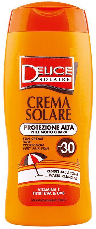 SOLARI DELICE CREMA 250ml FP30 PROTEZIONE ALTA - C12