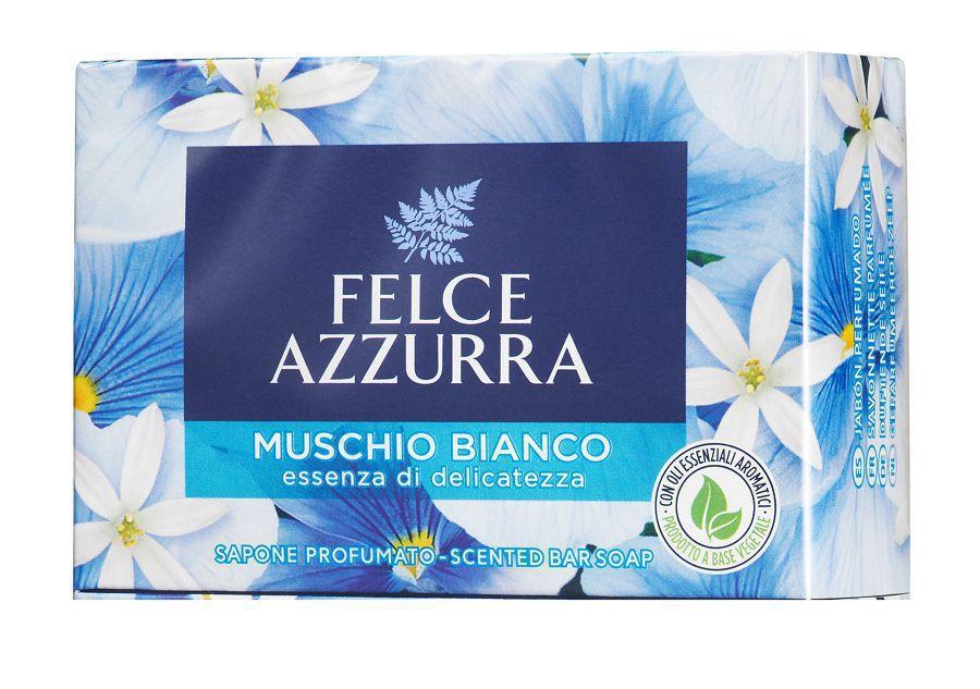 SAPONE SOLIDO FELCE AZZURRA 1pz MUSCHIO BIANCO