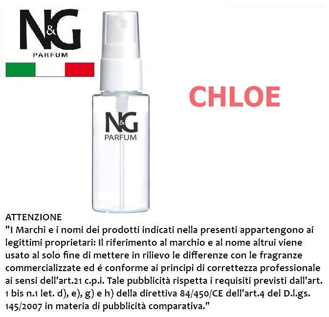 PROFUMO NG 50ml 1pz N.51 DONNA (CHLOE) - ECOLOGICO