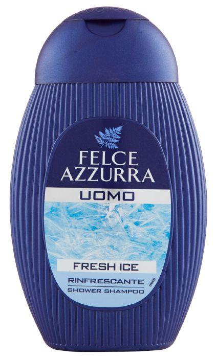 DOCCIASCHIUMA SHAMPOO FELCE AZZURRA UOMO FRESH ICE 250ml 1pz - C12