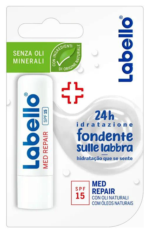 BURROCACAO LABELLO MED 5,5 FP15 BLISTER 1pz