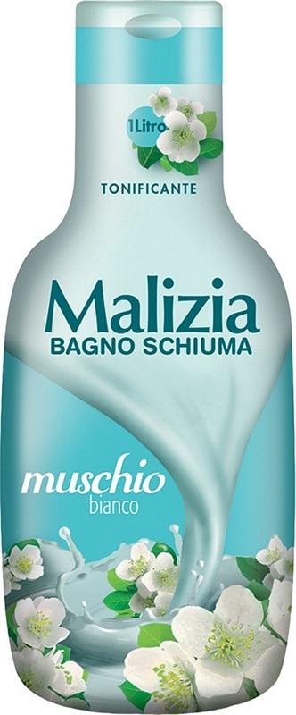 BAGNOSCHIUMA MALIZIA MUSCHIO BIANCO  1000ml  1pz - C12