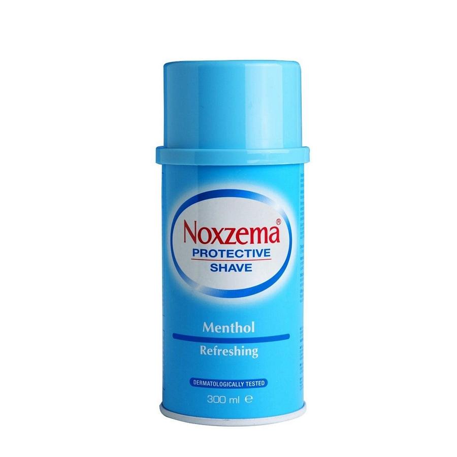 SCHIUMA DA BARBA NOXZEMA AZZURRA 300ml 1pz EXTRA FRESH MENTOLO - C12