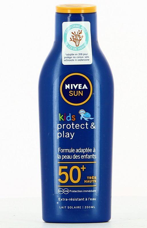 SOLARI NIVEA KIDS LOZIONE 200ml FP50+ PROTECT PLAY - imp.