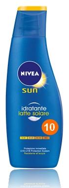 SOLARI NIVEA LATTE IDRATANTE 200ml FP10 - C12
