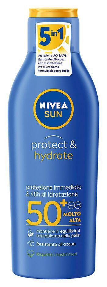 SOLARI NIVEA LATTE IDRATANTE 200ml FP50+ - C12