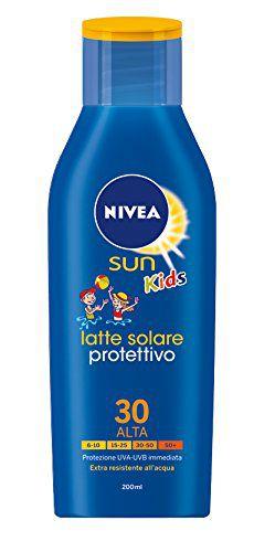 SOLARI NIVEA LATTE KIDS 200ml FP30 - C12