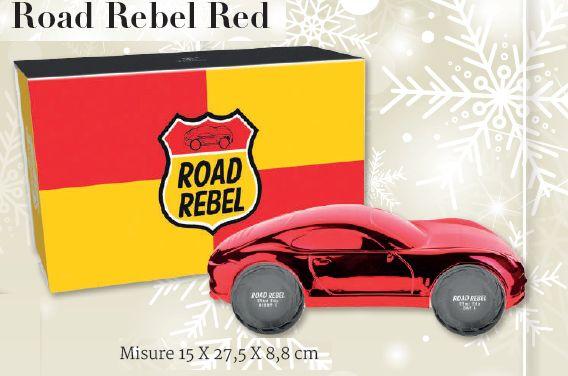 COFANETTO A PROFUMO SOLE UOMO ROAD REBEL RED 1pz 25ml - 15 X 27,5 X 8,8 cm